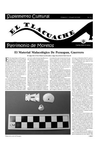 El Tlacuache Núm. 311 (2008)