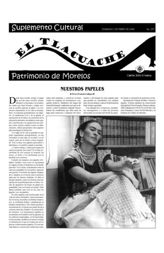 El Tlacuache Núm. 297 (2008)