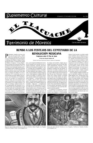 El Tlacuache Núm. 296 (2008)