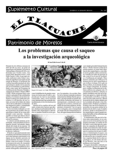 El Tlacuache Núm. 125 (2004)