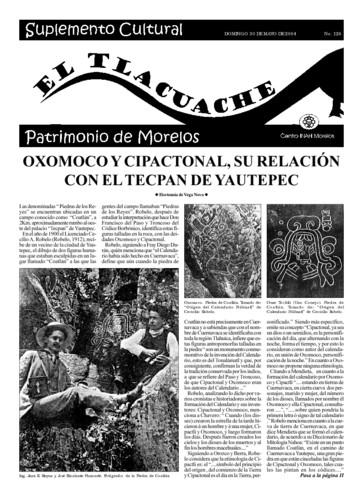 El Tlacuache Núm. 126 (2004)