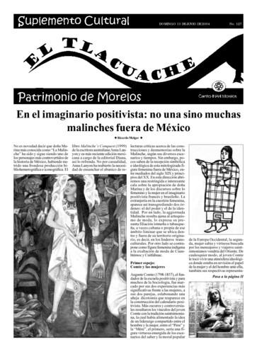 El Tlacuache Núm. 127 (2004)