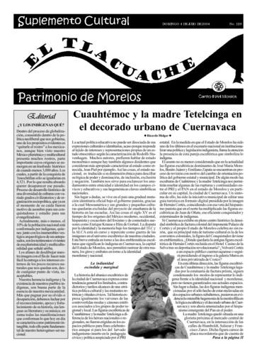 El Tlacuache Núm. 129 (2004)