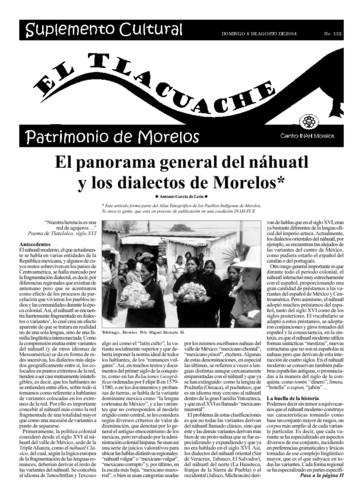 El Tlacuache Núm. 132 (2004)