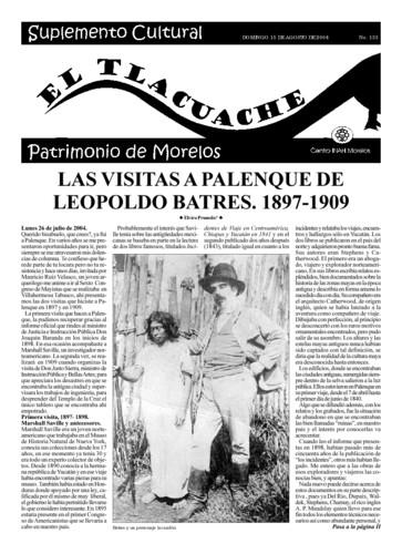 El Tlacuache Núm. 133 (2004)