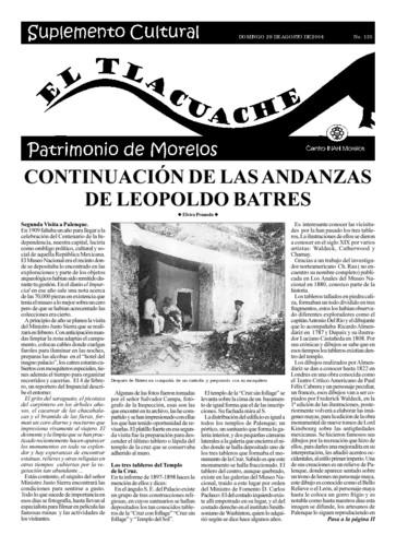 El Tlacuache Núm. 135 (2004)