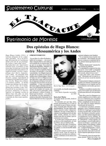 El Tlacuache Núm. 138 (2004)
