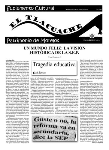 El Tlacuache Núm. 140 (2004)
