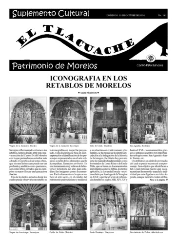 El Tlacuache Núm. 141 (2004)