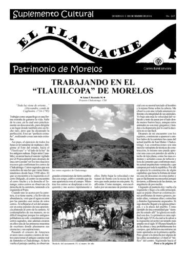 El Tlacuache Núm. 147 (2004)