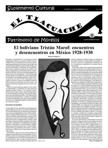 El Tlacuache Núm. 149 (2004)