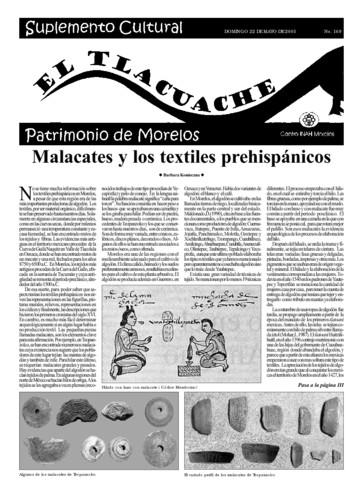 El Tlacuache Núm. 169 (2005)