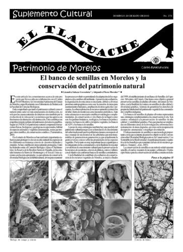 El Tlacuache Núm. 170 (2005)