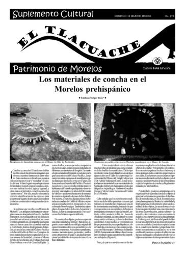 El Tlacuache Núm. 172 (2005)