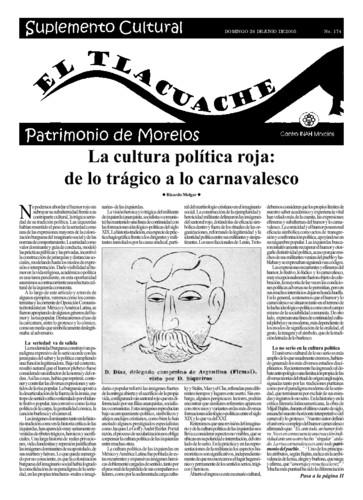 El Tlacuache Núm. 174 (2005)