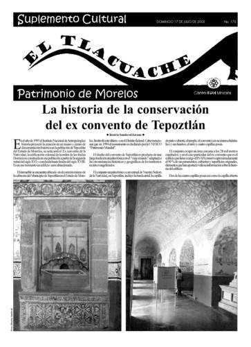 El Tlacuache Núm. 176 (2005)