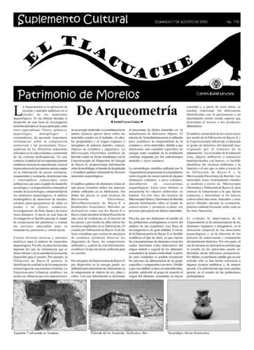 El Tlacuache Núm. 178 (2005)