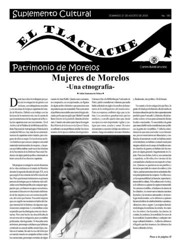 El Tlacuache Núm. 180 (2005)