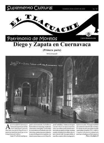 El Tlacuache Núm. 181 (2005)