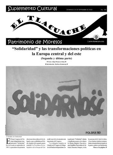 El Tlacuache Núm. 185 (2005)
