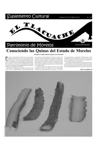 El Tlacuache Núm. 186 (2005)