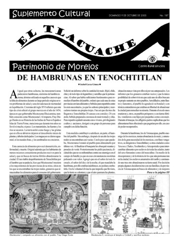 El Tlacuache Núm. 187 (2005)