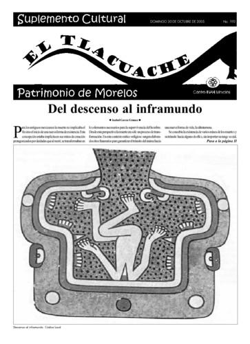 El Tlacuache Núm. 190 (2005)