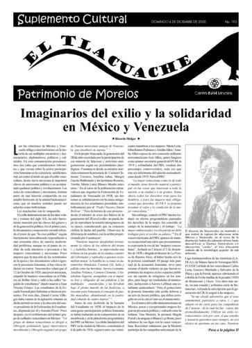 El Tlacuache Núm. 193 (2005)