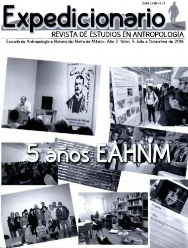 Expedicionario, Revista de Estudios en Antropología. Num. 5 (2016)