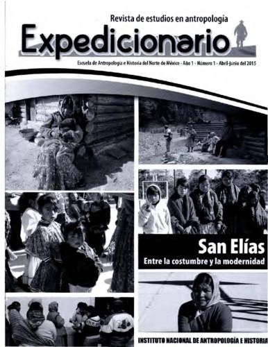 Expedicionario, Revista de Estudios en Antropología. Num. 1 (2015)