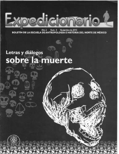 Expedicionario, Revista de Estudios en Antropología. Num. 3 (2013)