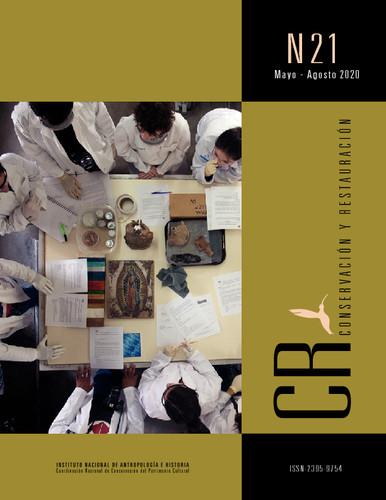 CR. Conservación y restauración Núm 21 (2020)
