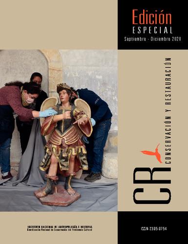 CR. Conservación y restauración. Edición Especial (2020)