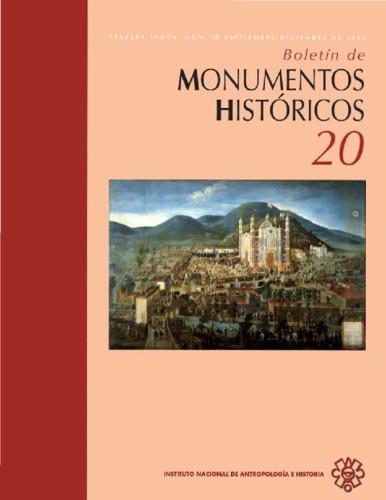Boletín de Monumentos Históricos Núm. 20 (2010) (Tercera Época)
