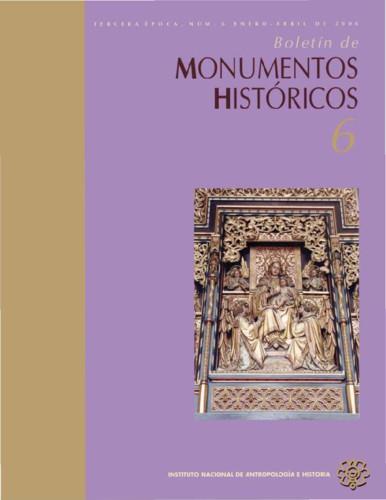 Boletín de Monumentos Históricos -  Num. 6 (2006) (Tercera Época)