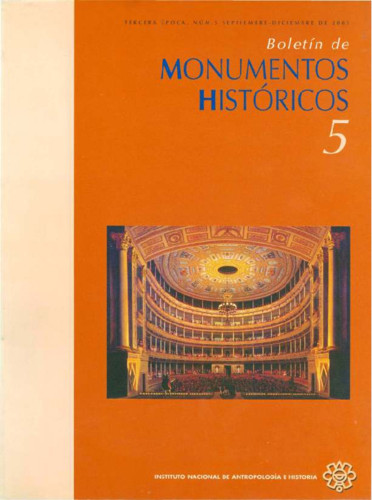 Boletín de Monumentos Históricos -  Num. 5 (2005) (Tercera Época)
