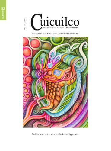 Cuicuilco Vol. 18 Num. 52 (2011) Métodos cualitativos de investigación
