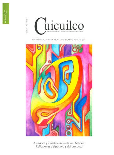 Cuicuilco Vol. 18 Num. 51 (2011) Africanos y afrodescendientes en México: Reflexiones del pasado y del presente