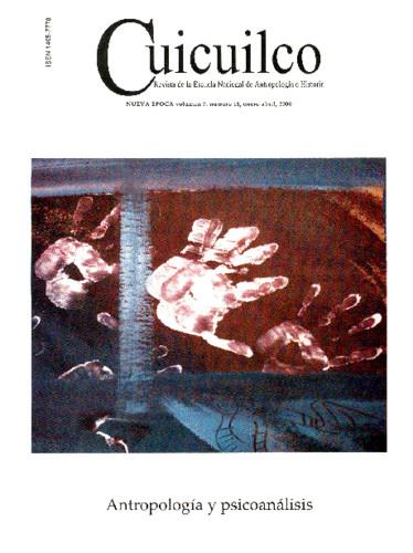 Cuicuilco Vol. 7 Num. 18 (2000) Antropología y psicoanálisis