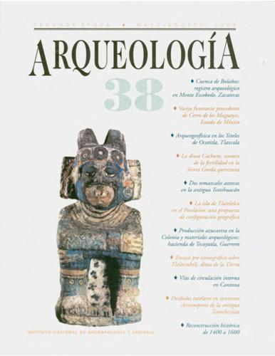 Arqueología -  Num. 38 (2008) Segunda época
