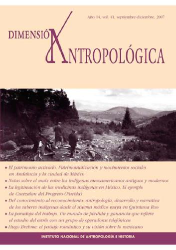 Dimensión Antropológica Vol. 41 (2007)