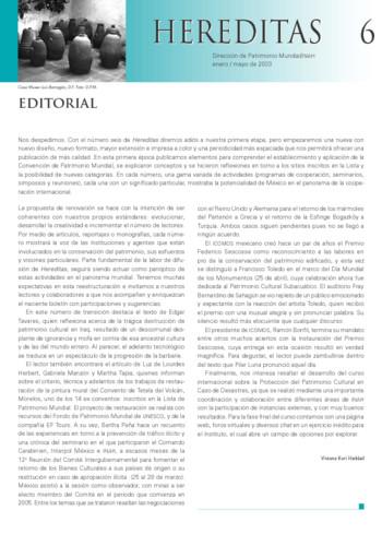 Hereditas -  Num. 6 (2003)