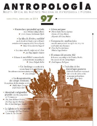 Antropología Num. 97 (2014)