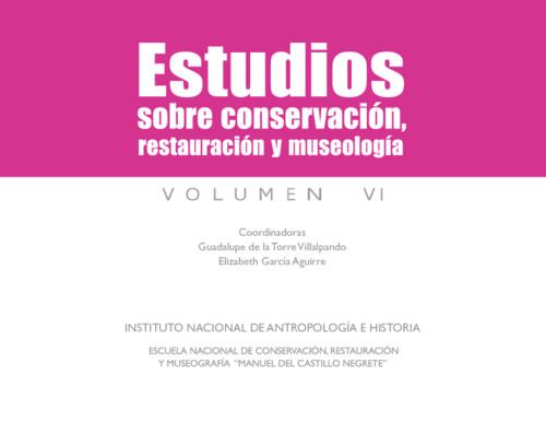 Estudios sobre conservación, restauración y museología VI