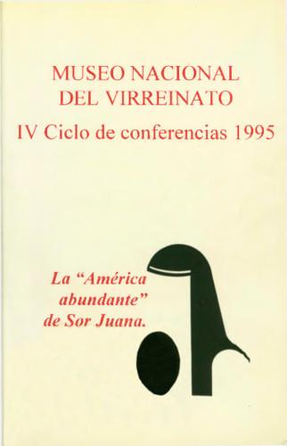 """La """"América abundante"""" de Sor Juana"""