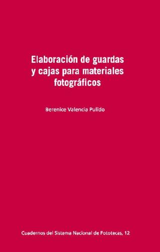 Elaboración de guardas y cajas para materiales fotográficos