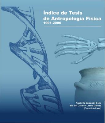 Índice de Tesis de Antropología Física