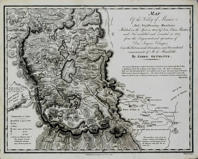Map of the Valley of Mexico