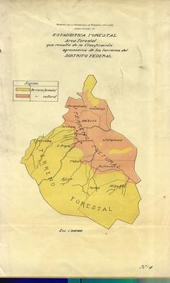 Estadística Forestal [del Distrito Federal]