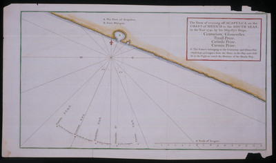 Form of cruising off Acapulco on the Coast of Mexico in the South seas, in the year 1742 by his